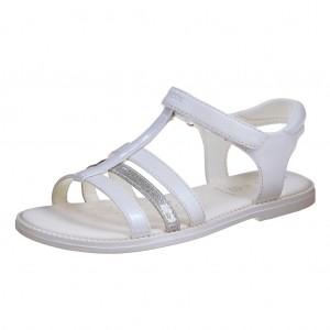 Dětská obuv GEOX J S.Karly /white - X...SLEVY  SLEVY  SLEVY...X