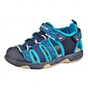 Dětská obuv GEOX B.Sand.Multy  /navy/turquoise - Boty a dětská obuv
