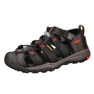 Dětská obuv KEEN Newport Neo H2 /black/firey red -  Sandály