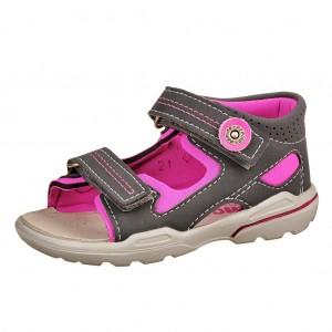 Dětská obuv Ricosta Manti  /antra/neonpink - Boty a dětská obuv