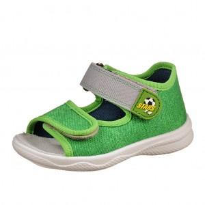 Dětská obuv Domácí sandálky Superfit 2-00294-31 -  Sandály