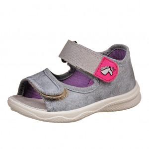 Dětská obuv Domácí sandálky Superfit 2-00294-44 -  Na doma a do škol(k)y