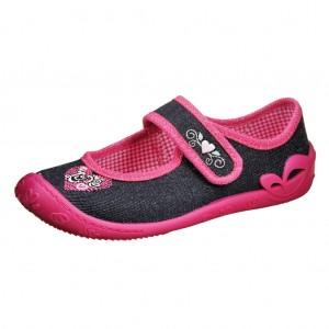 Dětská obuv Domácí obuv Fischer /jeansblau - Boty a dětská obuv