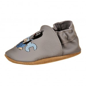 Dětská obuv Capáčky - BaBice Krteček *BF -  Na doma a do škol(k)y