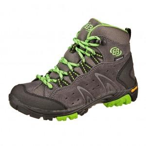 Dětská obuv Brütting Mount Bona High   /anthrazit/lemon -  Do hor nebo nížin