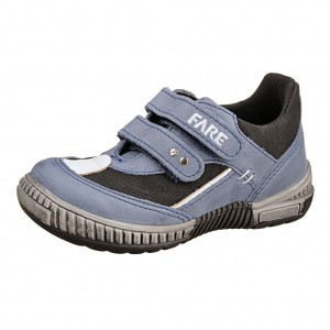 df12cfdeab9 Dětská obuv FARE 814105 TEX  modrá - Celoroční