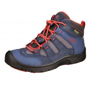 Dětská obuv KEEN Hikeport MID WP  /magnet/greenery - Boty a dětská obuv