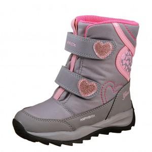 Dětská obuv GEOX J Orizont    /grey/pink - X...SLEVY  SLEVY  SLEVY...X