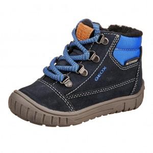 Dětská obuv GEOX B OMAR  /navy/royal - Boty a dětská obuv