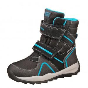 Dětská obuv GEOX J Orizont    /black/royal - X...SLEVY  SLEVY  SLEVY...X