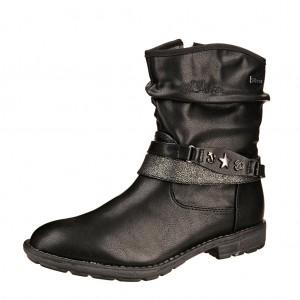Dětská obuv s'Oliver kozačky 45402  /black - X...SLEVY  SLEVY  SLEVY...X