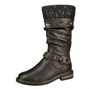 Dětská obuv s'Oliver kozačky 46603 /black - Boty a dětská obuv