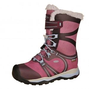 Dětská obuv KEEN Terradora Winter  WP  /win/tulipwood - Boty a dětská obuv