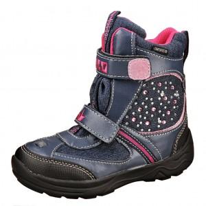 Dětská obuv LICO Jewel V Blinky  /marine/pink -  Zimní