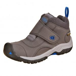 Dětská obuv KEEN Kootenay II WP  /magnet/baleine blue - Boty a dětská obuv