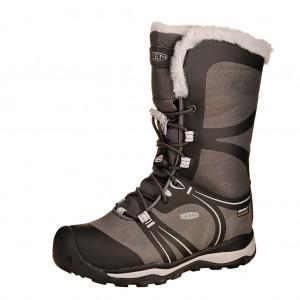 Dětská obuv KEEN Terradora Winter WP  /raven/vapor - Boty a dětská obuv