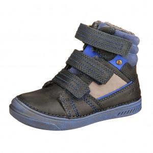 Dětská obuv D.D.Step  040-426BM Royal blue -  Zimní