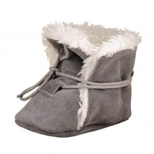 Dětská obuv Zimní capáčky - BaBice  Grey  *BF - Boty a dětská obuv