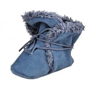 Dětská obuv Zimní capáčky - BaBice  Jeans  *BF -  Zimní