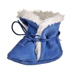 Dětská obuv Zimní capáčky - BaBice  modré *BF -  Zimní