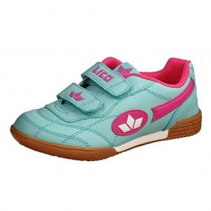 Dětská obuv LICO Bernie V   /tuerkis/pink/weiss - Boty a dětská obuv