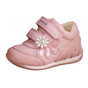 Dětská obuv GEOX B Each  pink white - Celoroční 27149af171