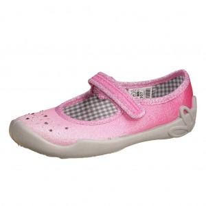 Dětská obuv Domácí obuv Befado růžová - Boty a dětská obuv