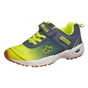 Dětská obuv LICO Barney VS   marine/lemon - Boty a dětská obuv