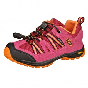 Dětská obuv Brütting Ohio Low  pink orange - Celoroční eaeb3d4d51