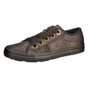 Dětská obuv s'Oliver black metallic - Boty a dětská obuv