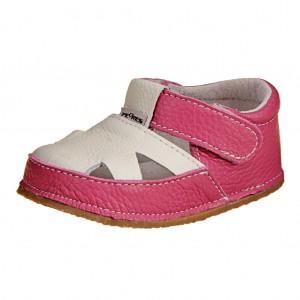 Dětská obuv Pegres 1096   /růž./bílá  *BF -  Na doma a do škol(k)y