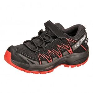 Dětská obuv Salomon XA Pro 3D CSWP K  /black -  Sportovní