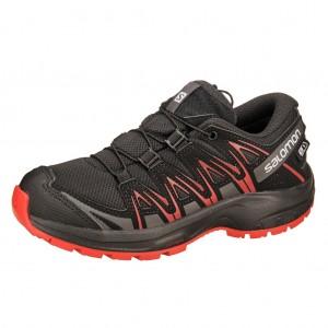 Dětská obuv Salomon XA Pro 3D CSWP J  /black -  Celoroční