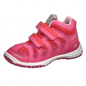 Dětská obuv VIKING Cascade II MID GTX   /magenta/red - Boty a dětská obuv