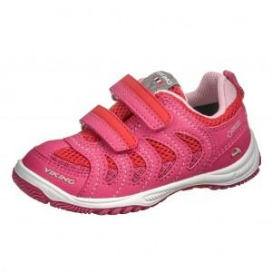 Dětská obuv VIKING Cascade II GTX   /magenta/red - Boty a dětská obuv
