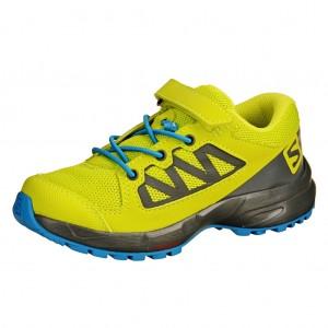 Dětská obuv Salomon XA Elevate K  /acid lime - Boty a dětská obuv