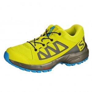 Dětská obuv Salomon XA Elevate J  /acid lime -  Sportovní