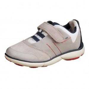 Dětská obuv GEOX J Nebula B   /grey/navy - Boty a dětská obuv