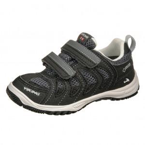 Dětská obuv VIKING Cascade II GTX   /black/grey - Boty a dětská obuv