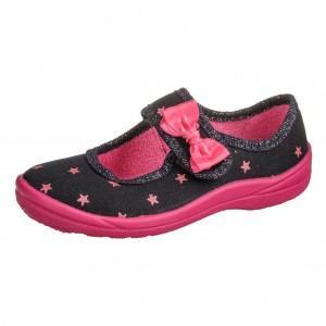 Dětská obuv Domácí obuv Fischer /Navy - Boty a dětská obuv