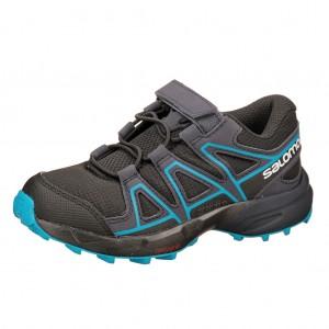 Dětská obuv Salomon Speedcross Bungee K  /black - Boty a dětská obuv