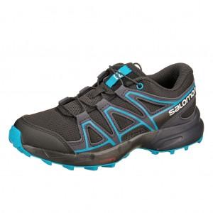 Dětská obuv Salomon Speedcross J  /black graphite - Boty a dětská obuv
