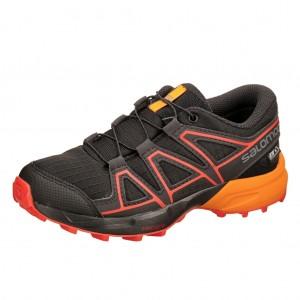 Dětská obuv Salomon Speedcross CSWP J  /black -  Sportovní