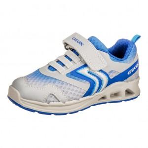Dětská obuv GEOX J Dakin B  /grey/royal - Boty a dětská obuv