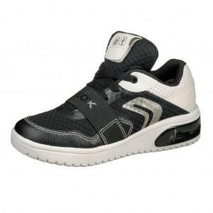 Dětská obuv GEOX J XLED B  /black/white - Boty a dětská obuv
