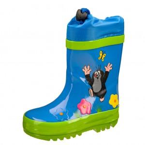 Dětská obuv Gumovky s krtkem modré - Gumovky