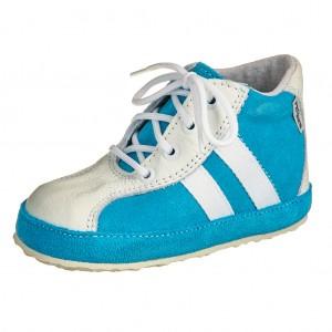 Dětská obuv Capáčky PEGRES 1093   /modré - Boty a dětská obuv