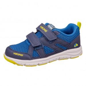 Dětská obuv VIKING ODDA  /navy/lime -  Sportovní
