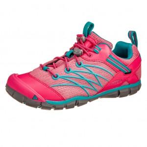 Dětská obuv KEEN Chandler   /bright pink/lake green -  Celoroční