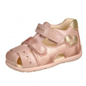 Dětská obuv GEOX B Kaytan  /dk.rose/gold - Boty a dětská obuv